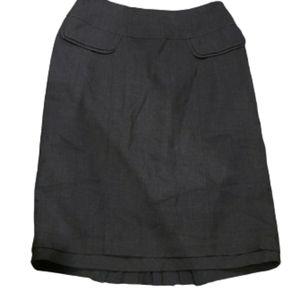 Nanette Lepore Heather Gray skirt